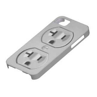 Electric Outlet iPhone 5 Case