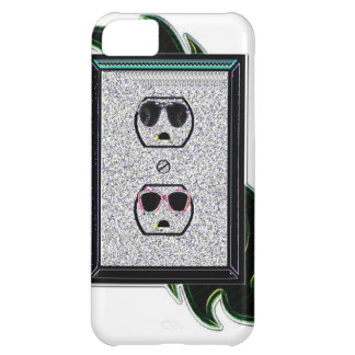 electric outlet co-ed case for iPhone 5C