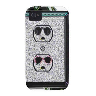 electric outlet co-ed vibe iPhone 4 case