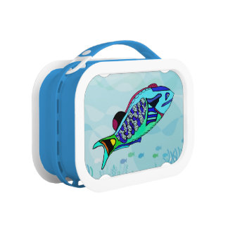 Electric Parrotfish Lunchboxes