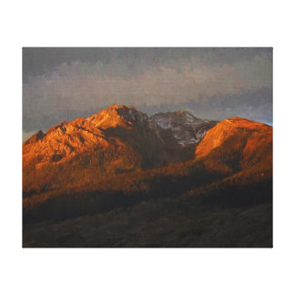 Electric Peak Canvas Print