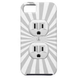 Electric Plug Wall Outlet Fun Customize This! Case For The iPhone 5