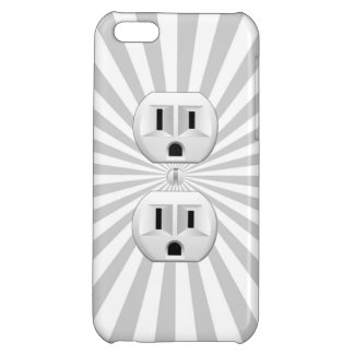Electric Plug Wall Outlet Fun Customize This! iPhone 5C Case
