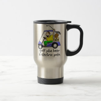 Electric Polo Stainless Steel Travel Mug