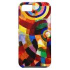 Electric Prisms - Abstract Vintage Art by Delaunay iPhone 5 Case