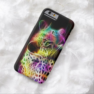ELECTRIC RAINBOW CAT LEOPARD CHEETAH BARELY THERE iPhone 6 CASE