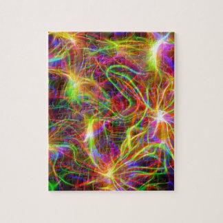 Electric Rainbow Jigsaw Puzzle