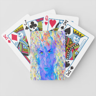 Electric Reality Bicycle Playing Cards