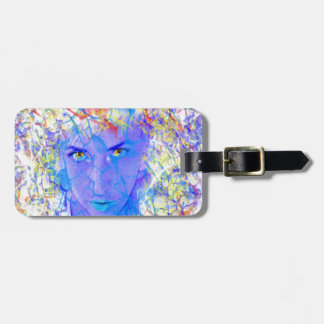 Electric Reality Luggage Tag