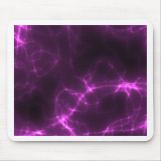 Electric Shock in Magenta Mouse Pad