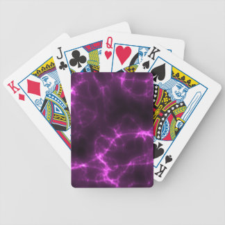 Electric Shock in Magenta Poker Deck