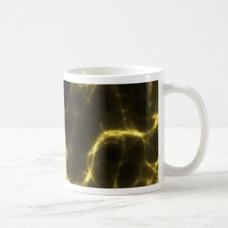 Electric Shock in Yellow Coffee Mug