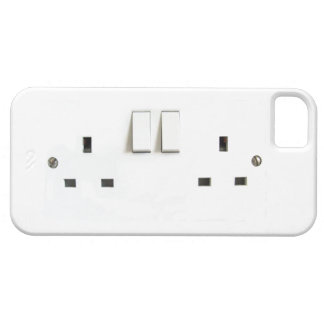 Electric socket from the UK iPhone 5 Cover