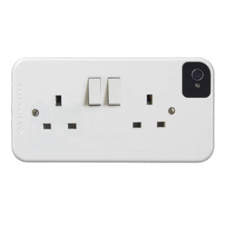 Electric socket from the UK Case-Mate iPhone 4 Case
