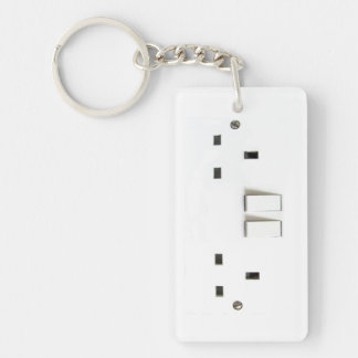 Electric socket from the UK Key Ring