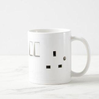 Electric socket mug