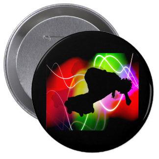 Electric Spectrum Skateboarder Pins