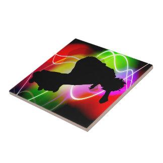Electric Spectrum Skater Ceramic Tiles