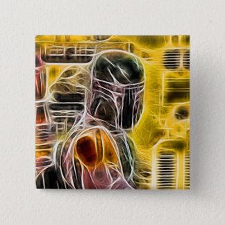 Electric Stare 15 Cm Square Badge