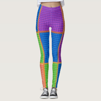 Electric Tartan Leggings