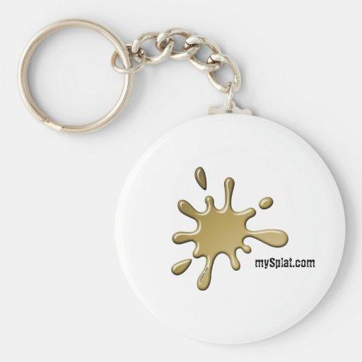 Electric Tournament Paintball - mySplat.com Keychains
