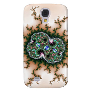 Electric Universe Fractal Pattern Samsung Galaxy S4 Cases