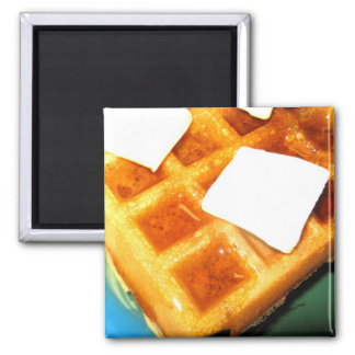 Electric Waffles Magnet