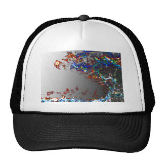 Electric Wave Mesh Hat