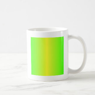 Electric Yellow and Electric Green Gradient Coffee Mug