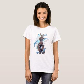 Electric Zebra Girl T-Shirt
