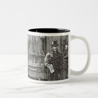 Electrical apparatus for the Clock Tower Two-Tone Coffee Mug