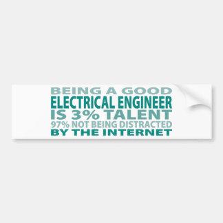 Electrical Engineer 3% Talent Bumper Sticker