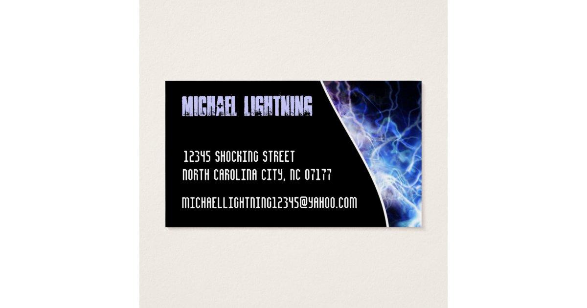 Electrical engineer business card zazzlecomau for Electrical engineer business card