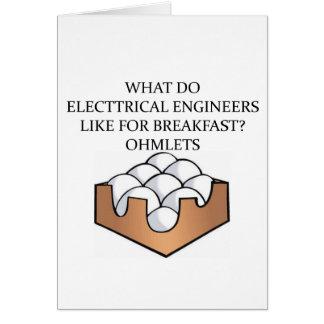 ELECTRICAL engineering Card
