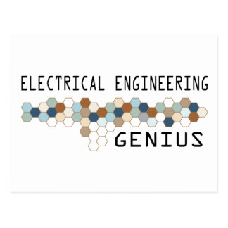 Electrical Engineering Genius Postcard