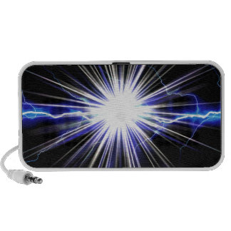 Electrical Lightning Star Burst iPod Speakers