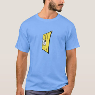 Electrical On and Off Light Switch T-Shirt