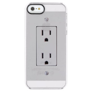 Electrical Outlet #2 Clear iPhone SE/5/5s Case