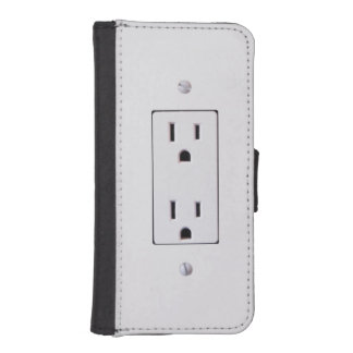 Electrical Outlet #2 iPhone 5 Wallet Cases