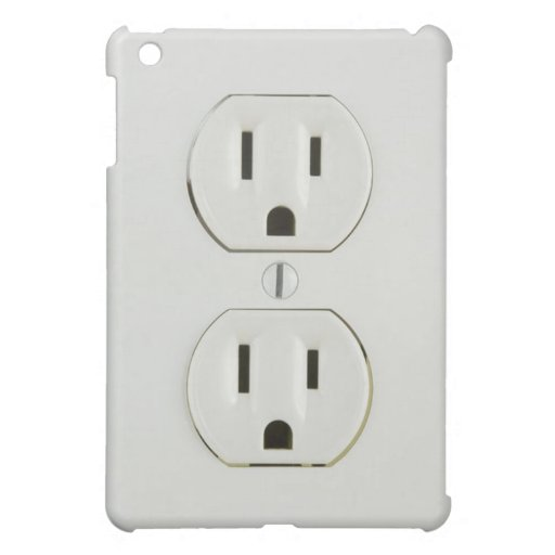 Electrical Outlet iPad Case