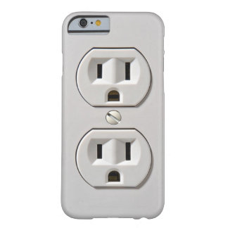 Electrical Outlet Plug in Barely There iPhone 6 Case