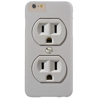 Electrical Outlet Plug in Barely There iPhone 6 Plus Case