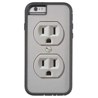 Electrical Outlet Plug in Tough Xtreme iPhone 6 Case