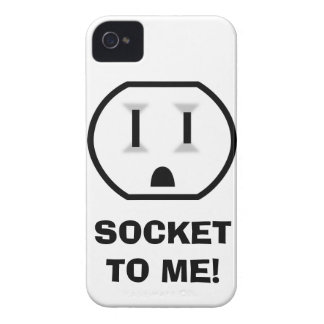 Electrical Outlet (Socket To Me) iPhone 4 Case-Mate Cases
