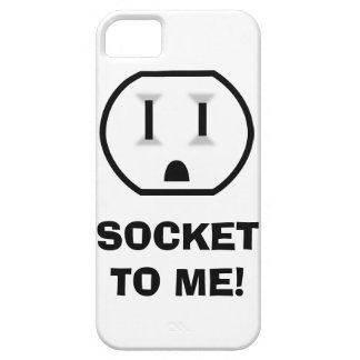 Electrical Outlet (Socket To Me) Case For The iPhone 5