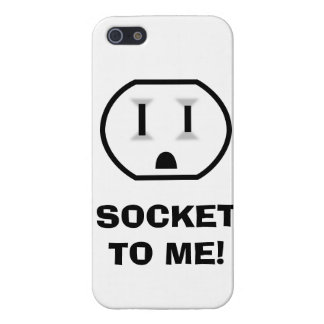 Electrical Outlet (Socket To Me) Case For iPhone 5