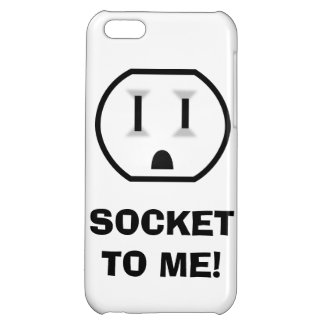 Electrical Outlet (Socket To Me) iPhone 5C Cover
