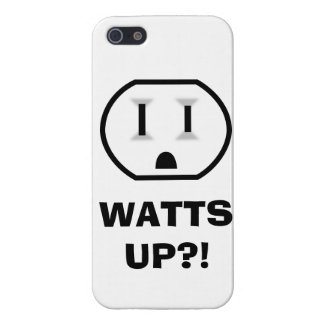 Electrical Outlet (Watts Up?!) Cover For iPhone 5