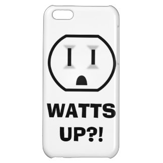 Electrical Outlet (Watts Up?!) iPhone 5C Case