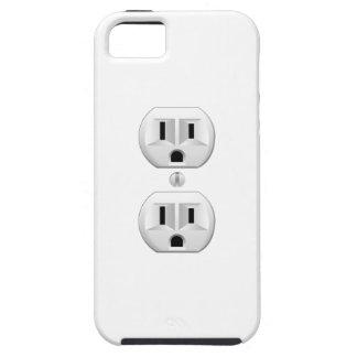 Electrical Plug Click to Customize Color Decor Tough iPhone 5 Case